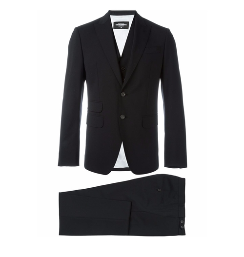Three-Piece Suit by Dsquared2 in Billions - Season 1 Episode 12