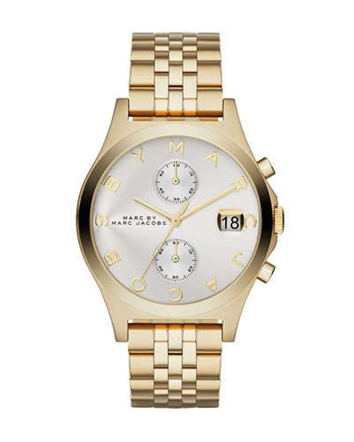 Ferus Golden Chronograph Watch by Marc by Marc Jacobs in The Second Best Exotic Marigold Hotel
