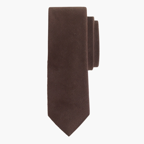 English Wool-Silk Solid Tie by J.Crew in Arrow - Season 4 Episode 4