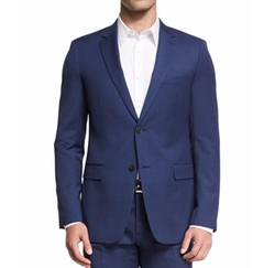 Wellar Camley Slim Wool Suit Jacket by Theory in Alex, Inc.