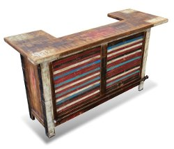 Bombay Hand Painted Bar Table by Rustic Furniture Mall in The Other Woman