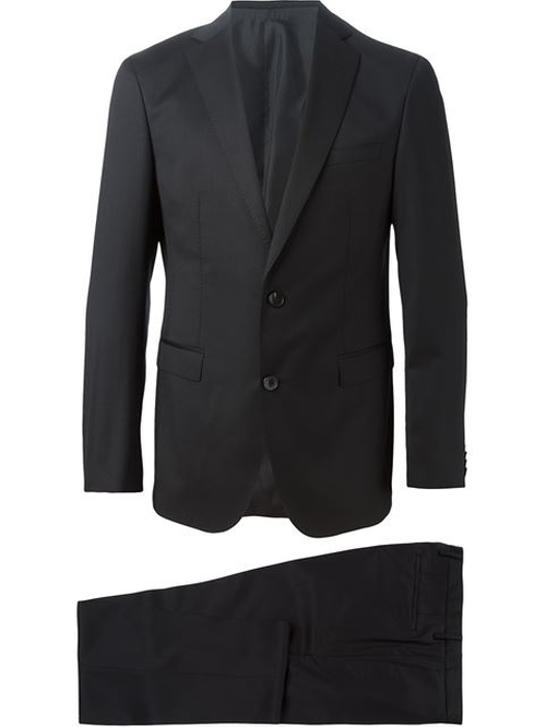 Two-Piece Suit by Boss Hugo Boss in Fifty Shades of Black