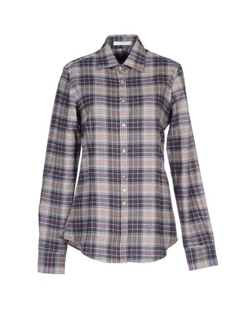 Flannel Button Down Shirt by Aglini in Unbreakable Kimmy Schmidt - Season 2 Episode 1