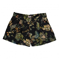 Caro Flowers Shorts by Morley in Black-ish