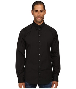 Stretch Poplin Button Up Shirt by Dsquared2 in The Last Witch Hunter