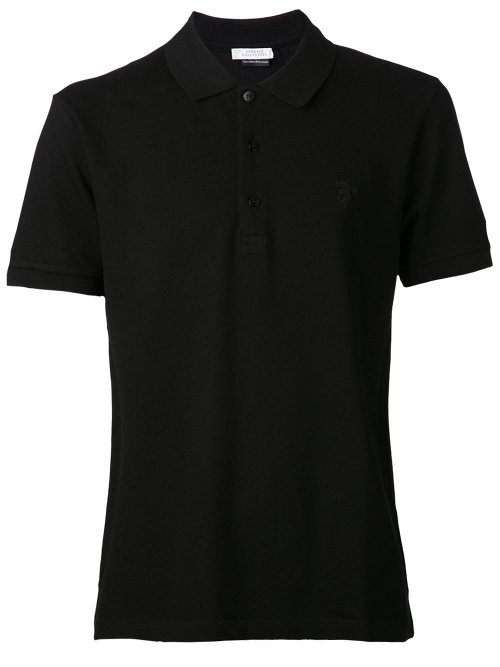 Pique Polo Shirt by Versace Collection in The Gunman
