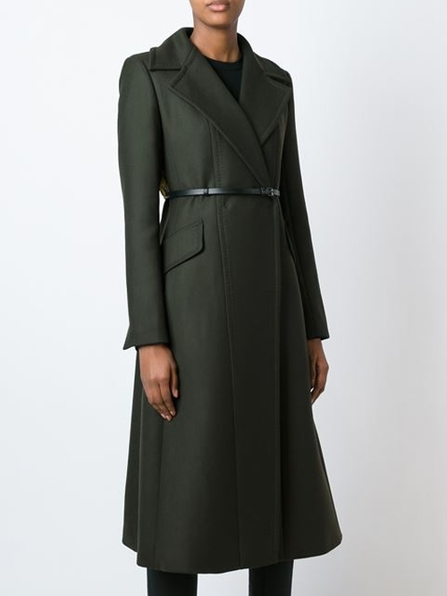 Long Belted Coat by Sportmax in How To Get Away With Murder - Season 2 Episode 9