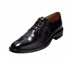 Warren Cap-Toe Leather Oxford Shoes by Cole Haan in Ballers