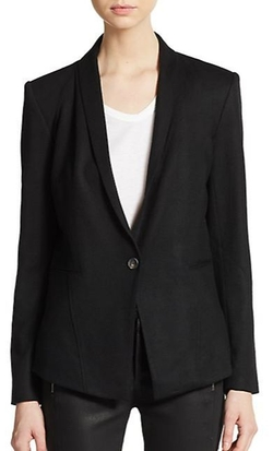 Scrunch Wool Blazer by Helmut Lang in On Her Majesty's Secret Service
