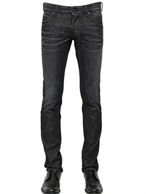 Slim Fit Black Wash Jeans by DSquared2 in Man of Tai Chi