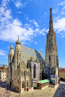 Vienna, Austria by St. Stephen's Cathedral in Mission: Impossible - Rogue Nation