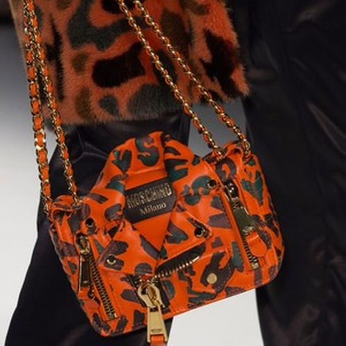 Fall15 Leather Chain Biker Bag by Moschino in Empire - Season 2 Episode 1
