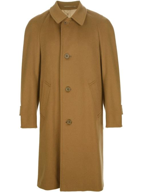 Single Breasted Coat by Aquascutum Vintage in The Dark Knight Rises