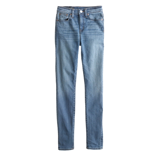 High-Rise Cone Denim Jeans by J. Crew in The Visit