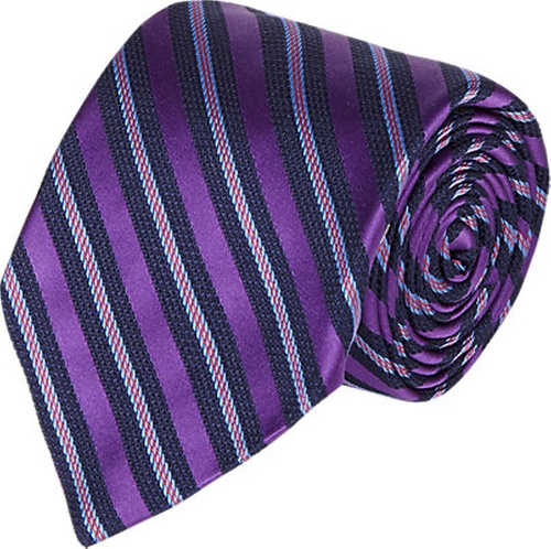 Mixed-Stripe Jacquard Silk Neck Tie by Barneys New York in Suits - Season 5 Episode 1