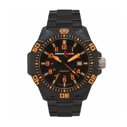 Sapphire Black-Orange Watch by Armourlite in The Fate of the Furious