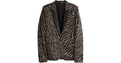Tiger Print Blazer by The Kooples in Popstar: Never Stop Never Stopping