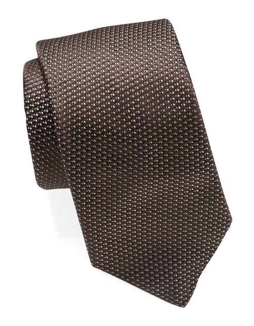 Silk Micro Dot Tie by Michael Kors in The Transporter