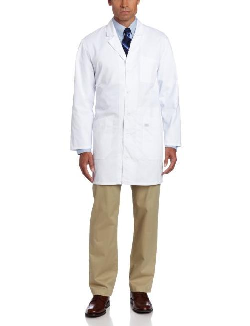 Men's 37 Inch Unisex iPad Lab Coat by Dickies in Transcendence