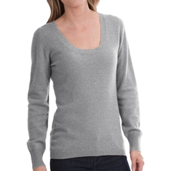 Scoop Neck Cashmere Sweater by Sierra Trading Post in Sleeping with Other People