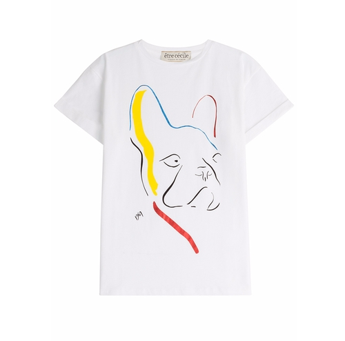 Dog T-Shirt by Etre Cecile in Sisters