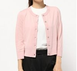 Crop Jewel Button Cardigan by Kate Spade New York in Riverdale