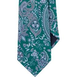 Floral Paisley Neck Tie by Ermenegildo Zegna in Shutter Island