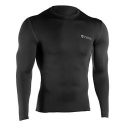 Mens Long Sleeve Compression Shirt by Tommie Copper in The Expendables 3