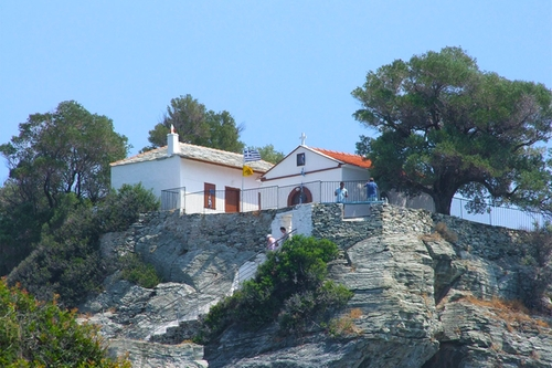Ekklisia Agios Ioannis Church Sporades, Greece in Mamma Mia!