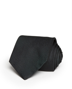 Warsop Roadster Textured Solid Skinny Tie by Theory in Suits
