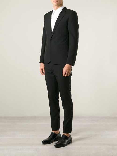 Slim Fit Two-Piece Suit by Saint Laurent in Suits - Season 5 Episode 1