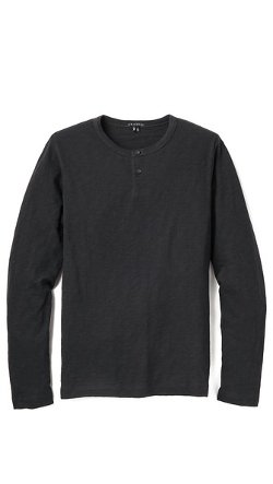 Nebulous Slub Henley by Theory in Run All Night