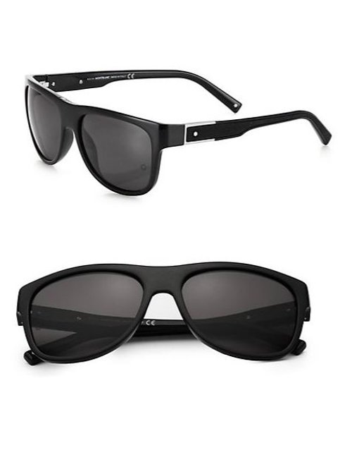 Wayfarer Sunglasses by Montblanc in The Gunman