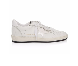 Ball Star Low-Top Leather Trainer Shoes by Golden Goose Deluxe Brand in Glow