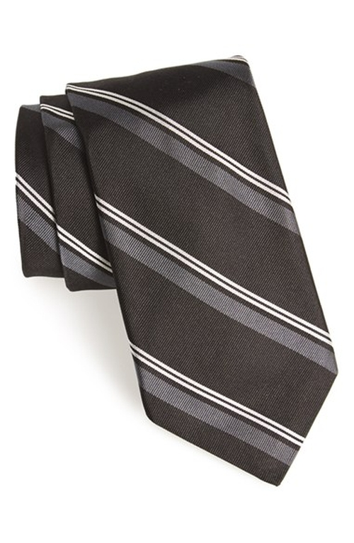 Woven Silk Tie by Todd Snyder White Label in Inherent Vice