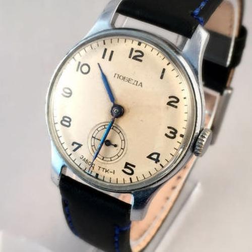 TTK - 1 Wrist Watch by Pobeda in The Man from U.N.C.L.E.