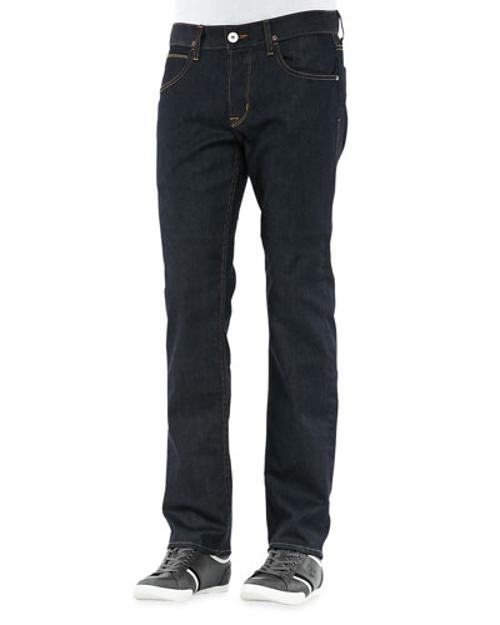 Byron Edges Dark Jeans by Hudson Jeans	 in Chronicle