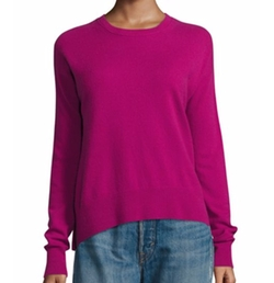 Boxy Cashmere Pullover Sweater by Vince in Fuller House