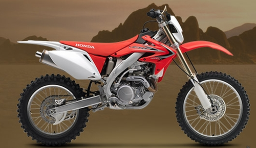 CRF450X Motorbike by Honda in The Bourne Legacy