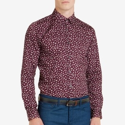 Floral Print Shirt by Ted Baker in New Girl