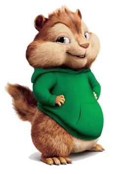 Theodore by Weta Digital in Alvin and the Chipmunks: The Road Chip