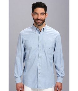 Solid Oxford Woven Shirt by Nautica in Regression