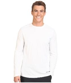 Microcool Long Sleeve Crew Shirt by Terramar in Cut Bank