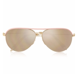 Aviator-Style Mirrored Sunglasses by Victoria Beckham in Keeping Up With The Kardashians