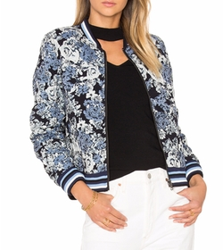 loral Bomber Jacket by BlankNYC in Power Rangers