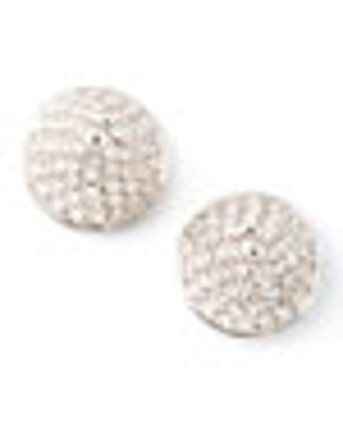 Pave Crystal Cone-Stud Earrings by Eddie Borgo in The Disappearance of Eleanor Rigby