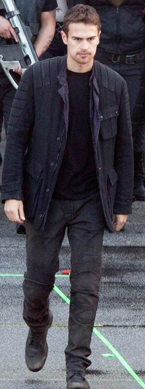 Custom Made 'Dauntless' Battle Uniform Jacket  (Four) by Carlo Poggioli (Costume Designer) in The Divergent Series: Allegiant