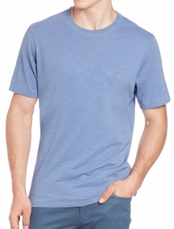Pima-Cotton Slub T-Shirt by Saks Fifth Avenue Collection in A Bigger Splash