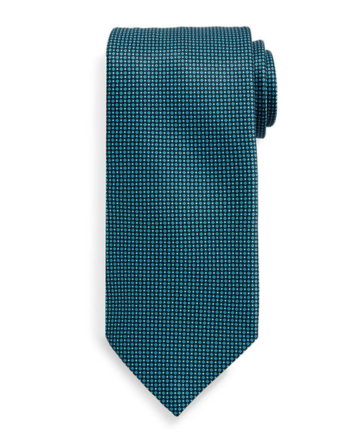 Neat-Patterned Silk Tie by Stefano Ricci in Billions - Season 1 Episode 6
