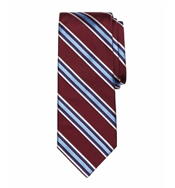 Satin Framed Stripe Tie by Brooks Brothers in War Dogs